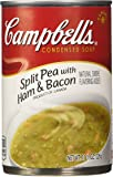 Campbell's Condensed Soup, Split Pea with Ham & Bacon, 11.5 Ounce (Pack of 12)