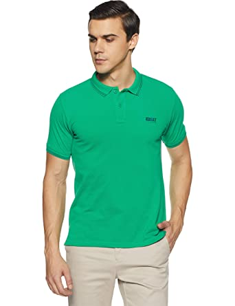 d2b05bfb9 Beat London by Pepe Jeans Men's Solid Regular Fit T-Shirt (PM541197_Lt  Green_XL): Amazon.in: Clothing & Accessories