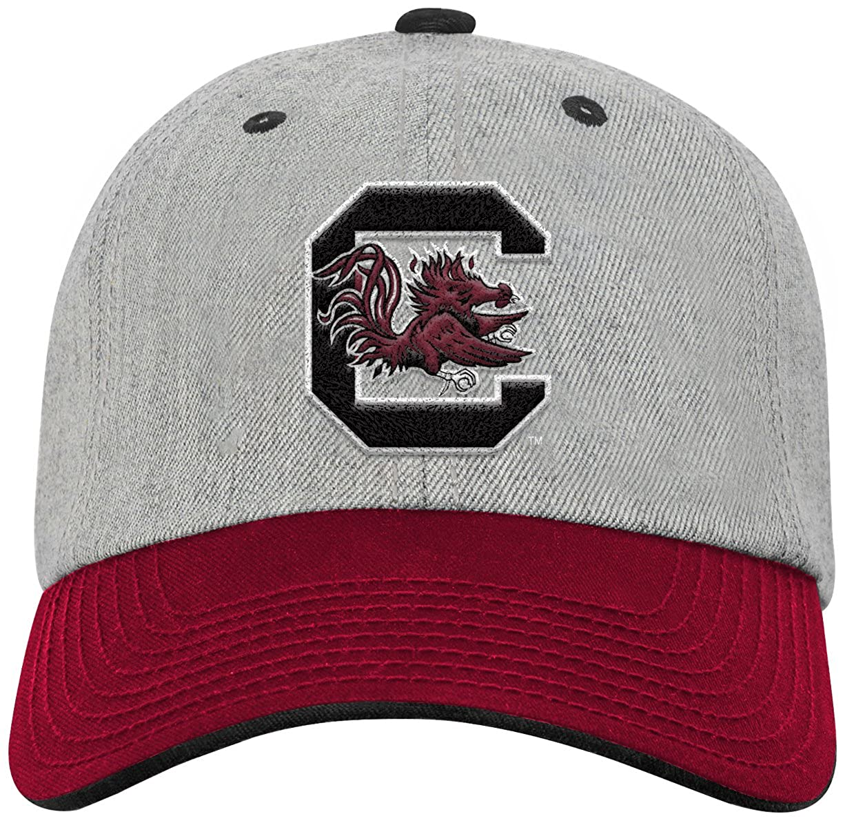 Youth One Size Team Color NCAA South Carolina Fighting Gamecocks Youth Outerstuff Chain Stitch Slouch Hat