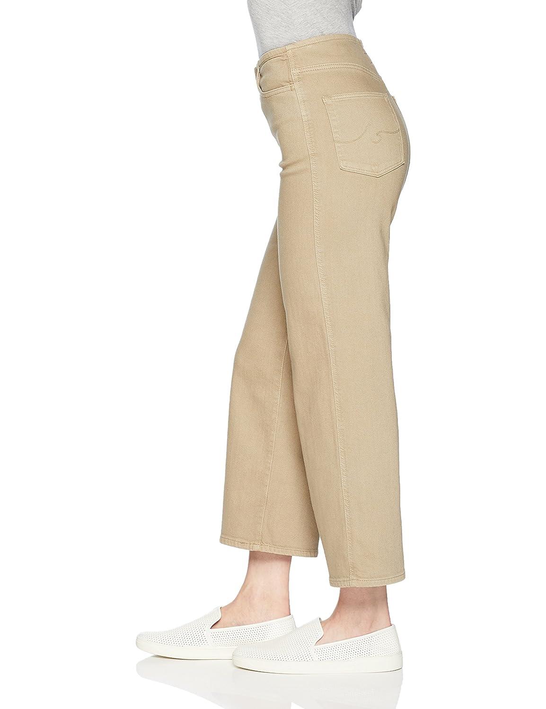 AG Adriano Goldschmied Womens Etta High-Waisted Wide Leg Crop