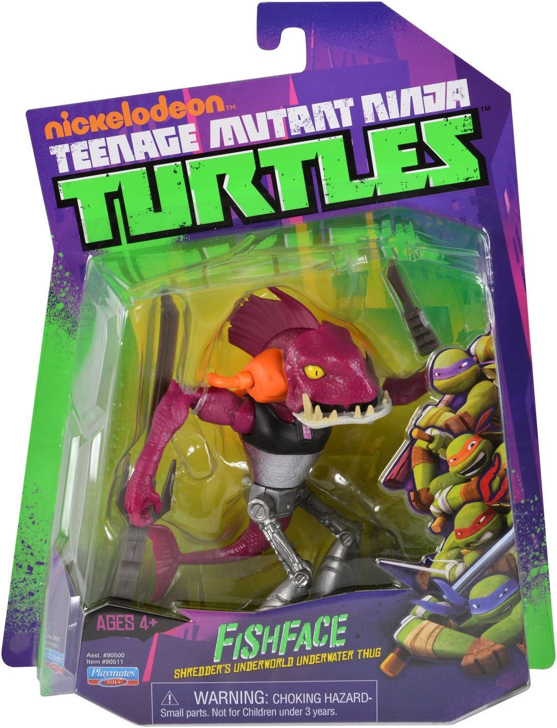 TMNT Teenage Mutant Ninja Turtles Fish Face Figure Toy Viacom Playmates 2012