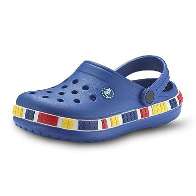 ddbc1d0fdfc2 Kids Unisex  quot LEGO quot  Clogs - Waterproof Children s EVA Slip-On Shoes  for