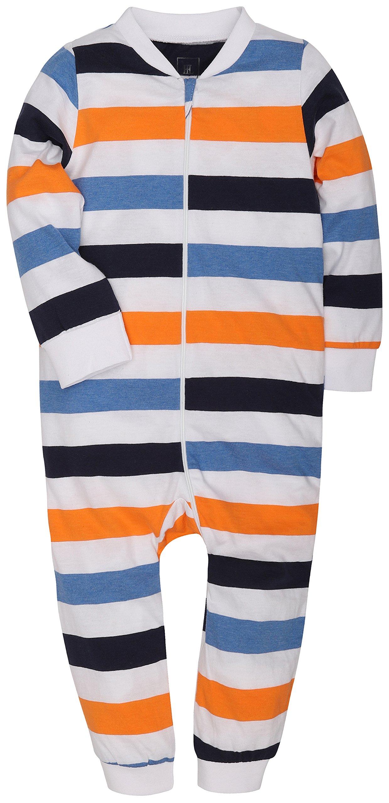MZL 2-Pack Baby Infant Boy Girl Pajamas Romper Clothes Bodysuit Newborn Jumpsuit by MZL (Image #3)
