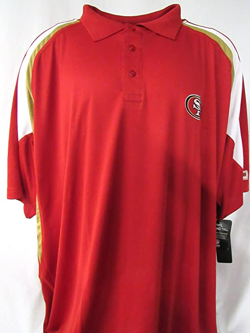 d2135a8a6 Image Unavailable. Image not available for. Color  NFL Team Apparel San  Francisco 49ers Big Mens Size 6X-Large ...