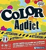 France Cartes - 410400 - Jeu de Société - Color Addict