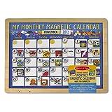 My Monthly Magnetic Calendar + FREE Melissa & Doug Scratch Art Mini-Pad Bundle [37884]