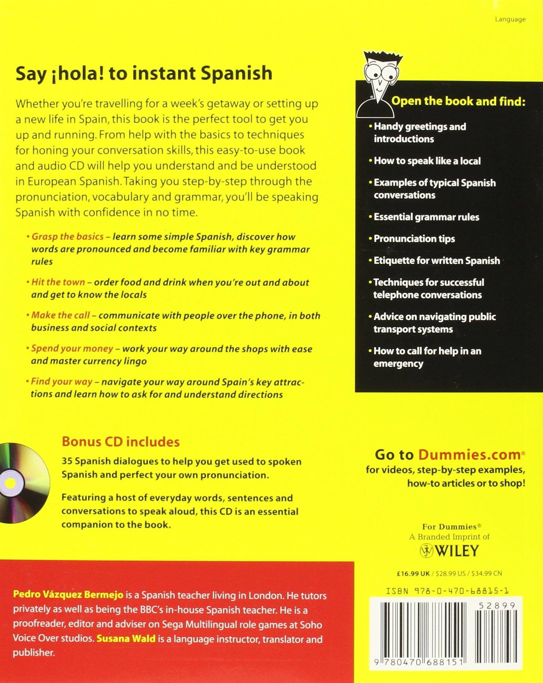 Spanish Word Games For Dummies Adam Cohen 9780470688151 Amazon