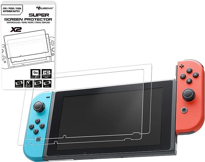 Subsonic - Pack De 2 Protectores De Pantalla De Vidrio (Nintendo ...