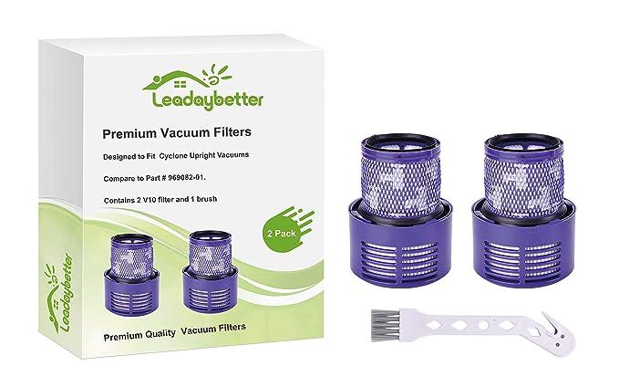 Leadaybetter - Filtro de repuesto para aspiradora Dyson V10 SV12 ...