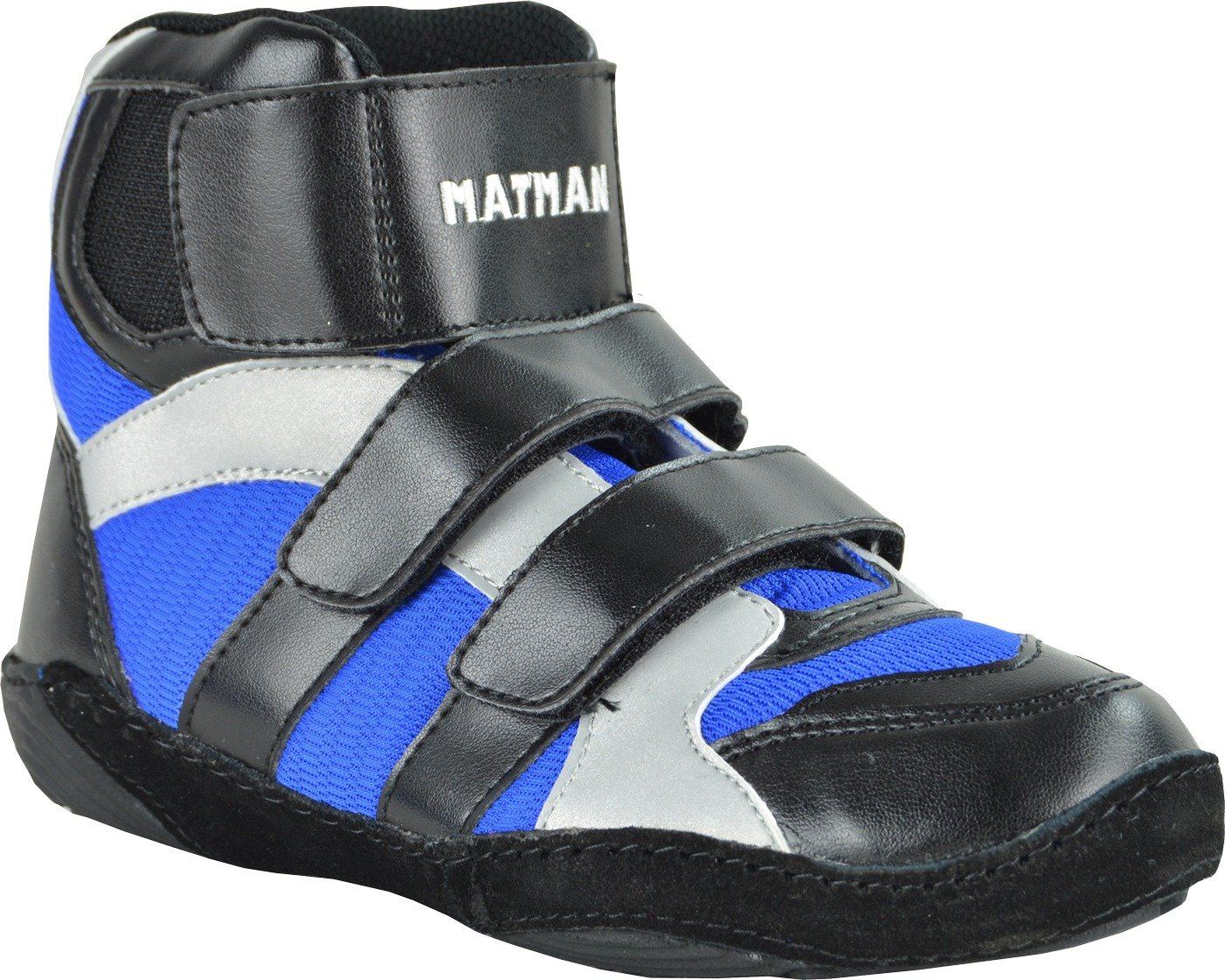 Matman Scrapper Youth Laceless Wrestling Shoes by Matman