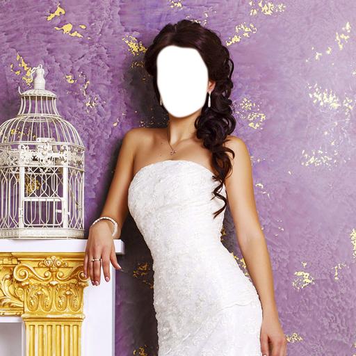 Wedding Gown Photo Montage (Gown Veil)