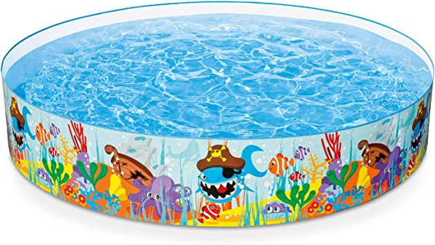 Amazon.com: Intex Ocean Reef Snapset - Piscina hinchable ...