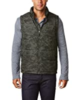 32 Degrees Heat Weatherproof Men's Down Packable Vest With Storage Bag