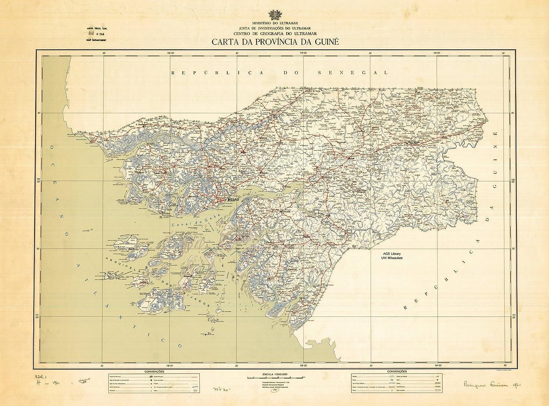 Amazon|歴史地図 ギニアビサウ1...