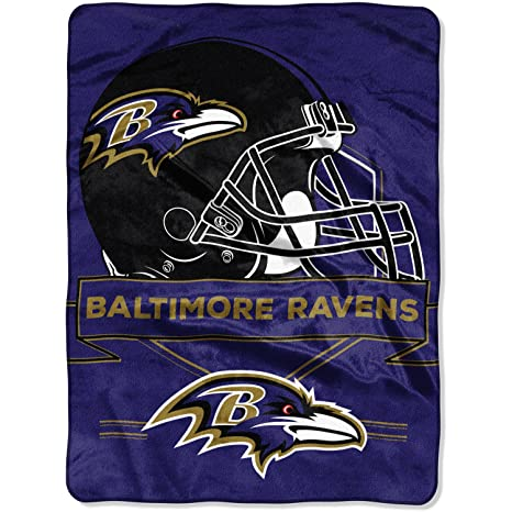 b6086f8a84 Image Unavailable. Image not available for. Color  The Northwest Company  NFL Baltimore Ravens Prestige 60 quot  x 80 quot  Raschel ...