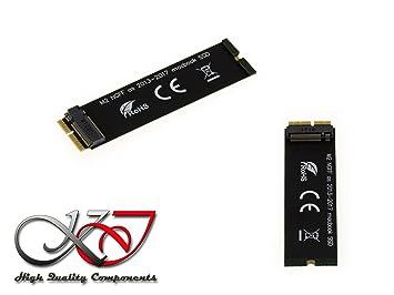 12 & 16 Pin Ngff M.2 Nvme Ssd Konvertieren Karte Adapter Karte Für Macbook Air A1465 A1466 Pro A1398 A1502 Upgrade 2013-2015 Unterstützung Computer & Büro