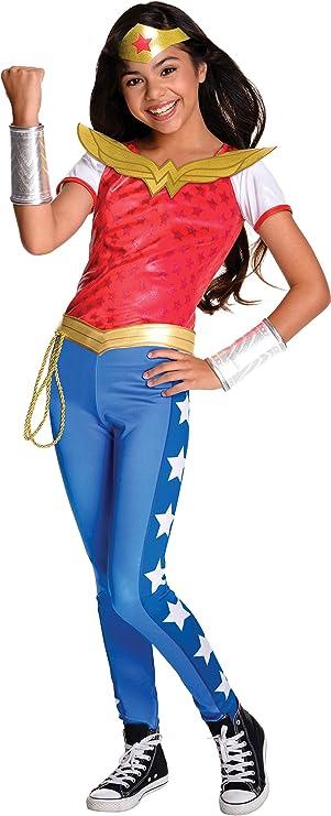 L Navy//Red XS Girls/' DC Comics Wonder Woman Union Suit