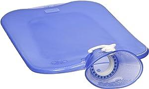 Transparent Blue Classic Hot Water Bottle