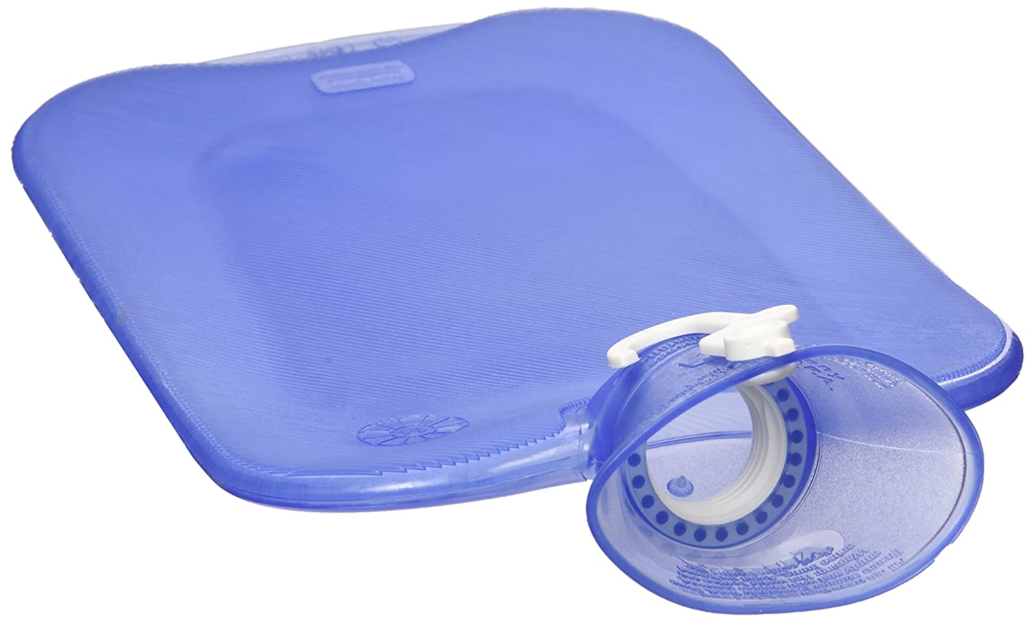 Transparent Blue Classic Hot Water Bottle