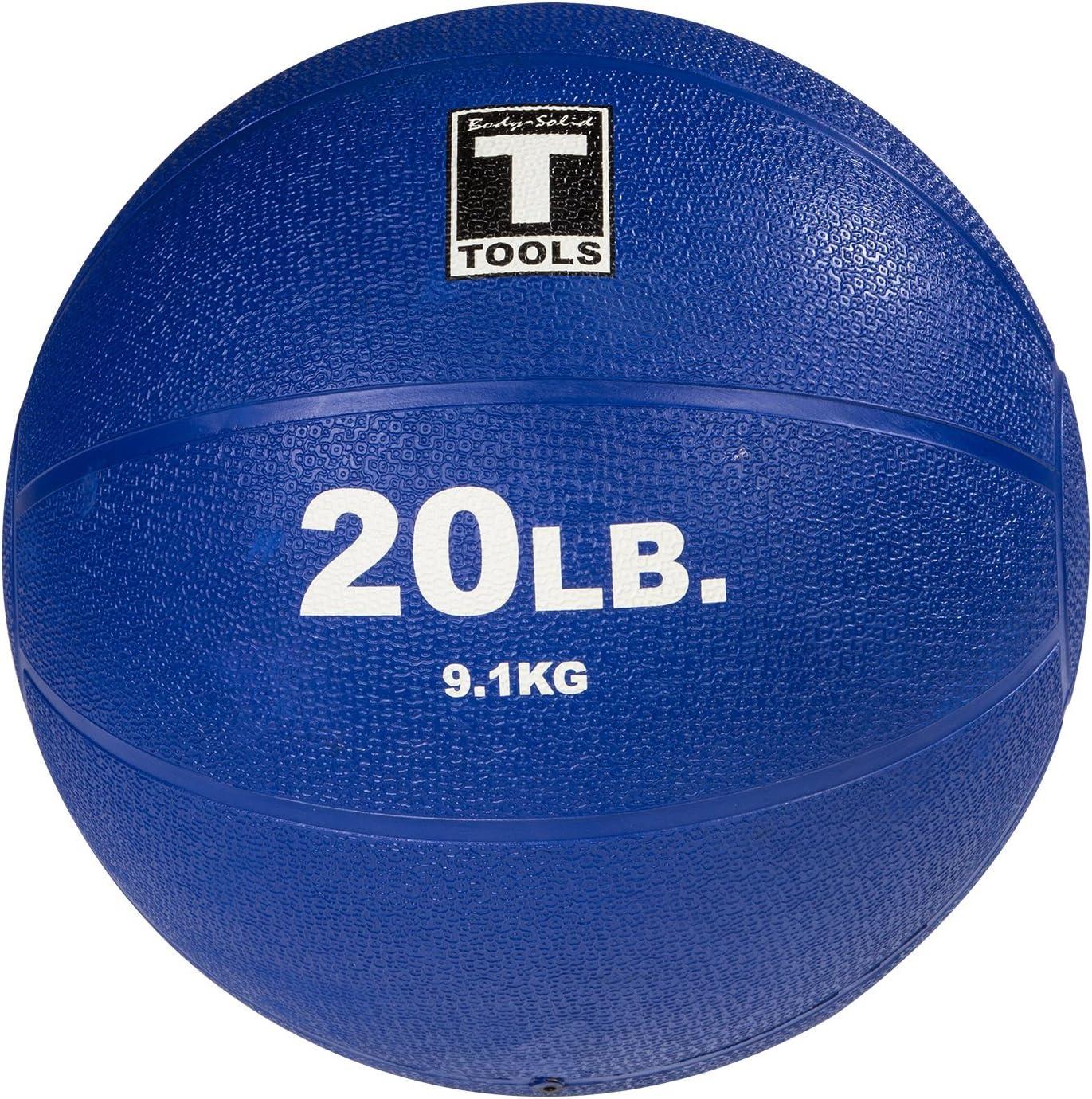 Body-Solid Medicine Ball, Color Azul, tamaño 9,1 kg, 9: Amazon.es ...