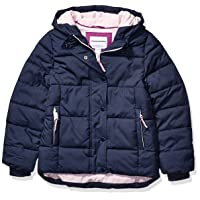 Girls' Heavy-Weight Hooded Puffer Coat