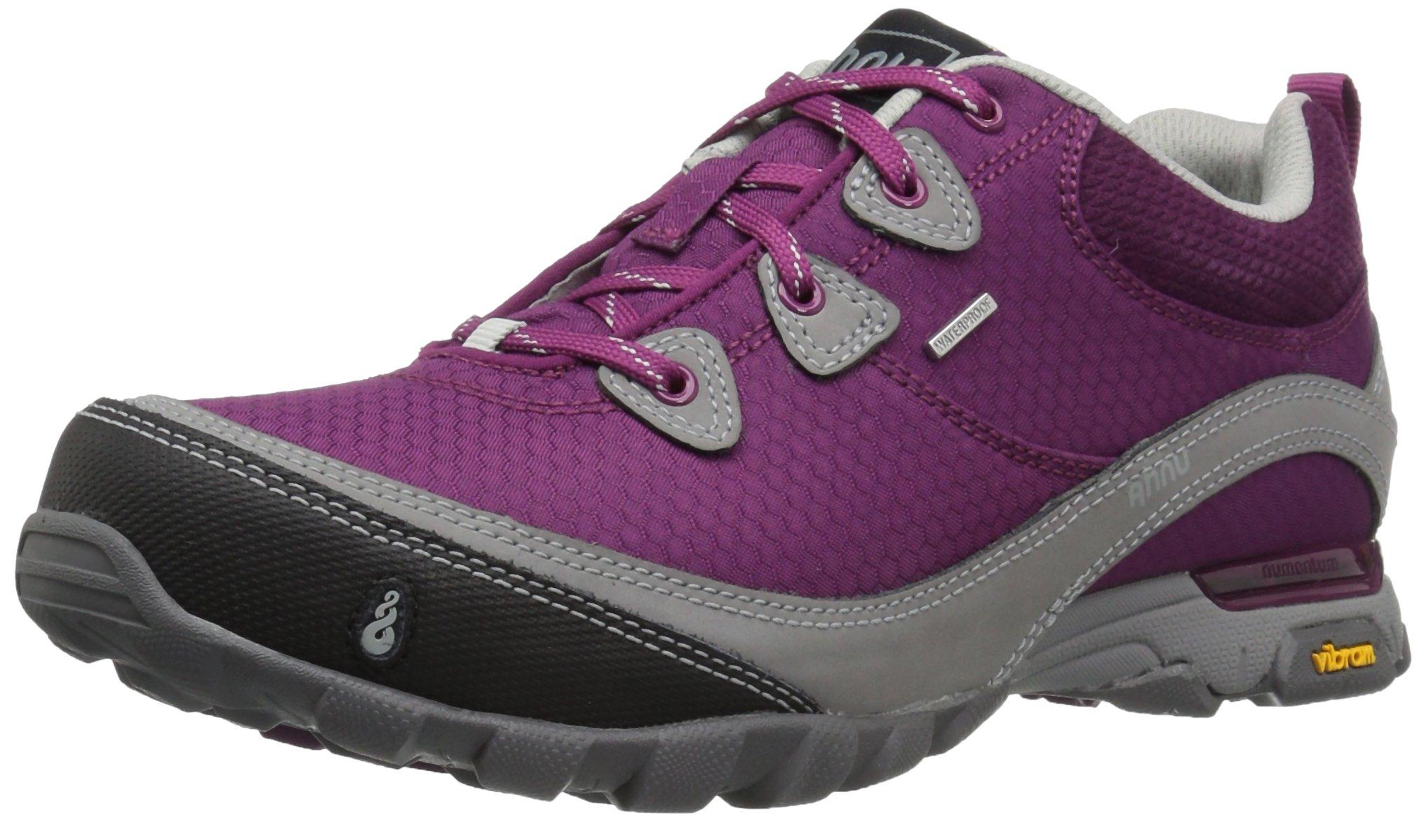 Ahnu Women's W Sugarpine Waterproof Hiking Shoe, Royal Magenta, 7.5 M US