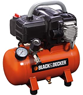 Black+Decker 1800 - Compresor con tanque de 6 L, sin aceite