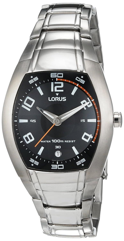 LORUS Herren-Armbanduhr Analog Quarz Edelstahl RXH83BX-9