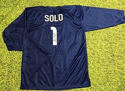 dba7b49e621 Hope Solo Signed Jersey - Usa Goalie - JSA Certified - Autographed Soccer  Jerseys