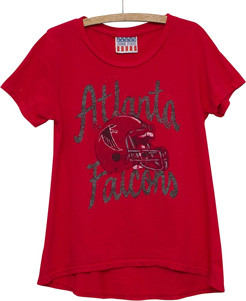 d523505e NFL Girl's Youth Game Day Glitter Tee