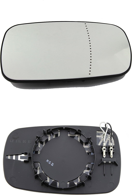 Miroir à Gauche pour RENAULT mode 12//04-1//08 rétroviseurs extérieurs manuellement verre asphäris