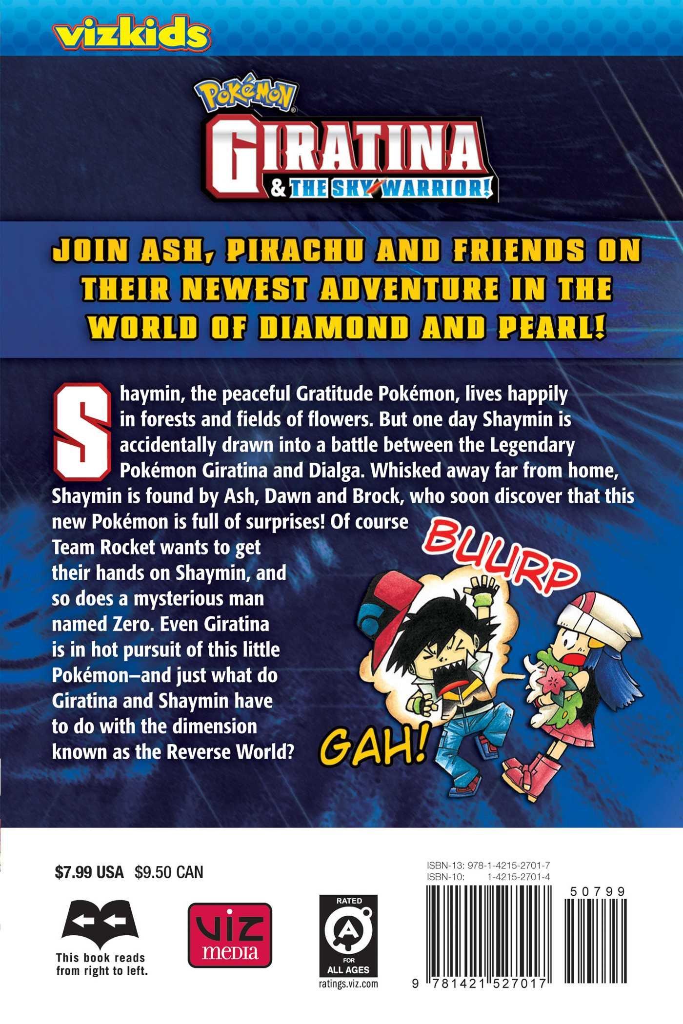 Pokemon Giratina And The Sky Warrior Hijioka Makoto Hijioka