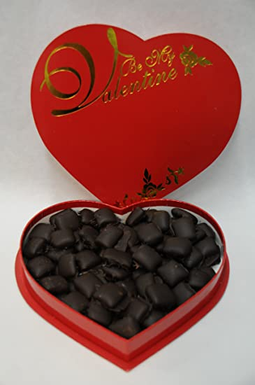 Amazon Com Valentine Box Of Vegan Chocolate Caramels Gourmet