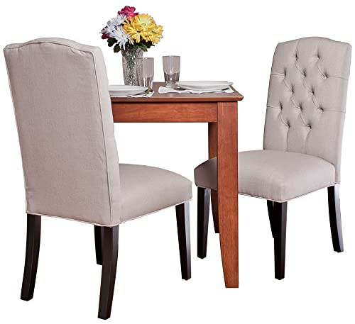 Best Selling Crown Top Natural Dining Chair, 2-Pack