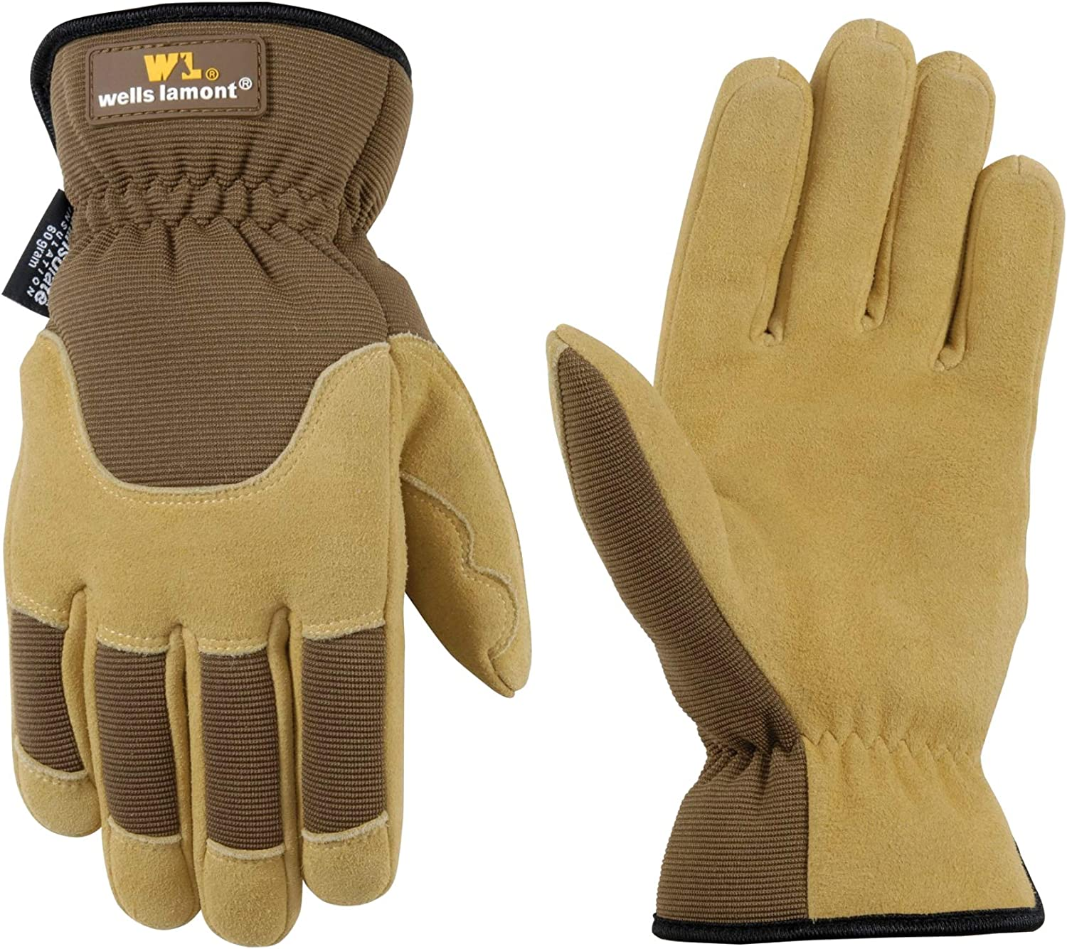 1//2 Synthetic Padded Leather Palm Gloves