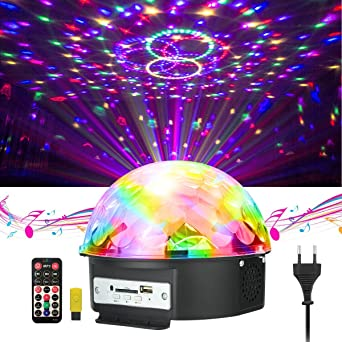 Disco Beleuchtung disco licht jelegan bühne licht led lichteffekte mp3 musik player