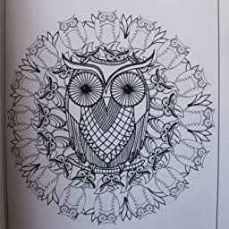 to Color: Owls Mandala Pattern Coloring Pages (50 Intricate Mandala