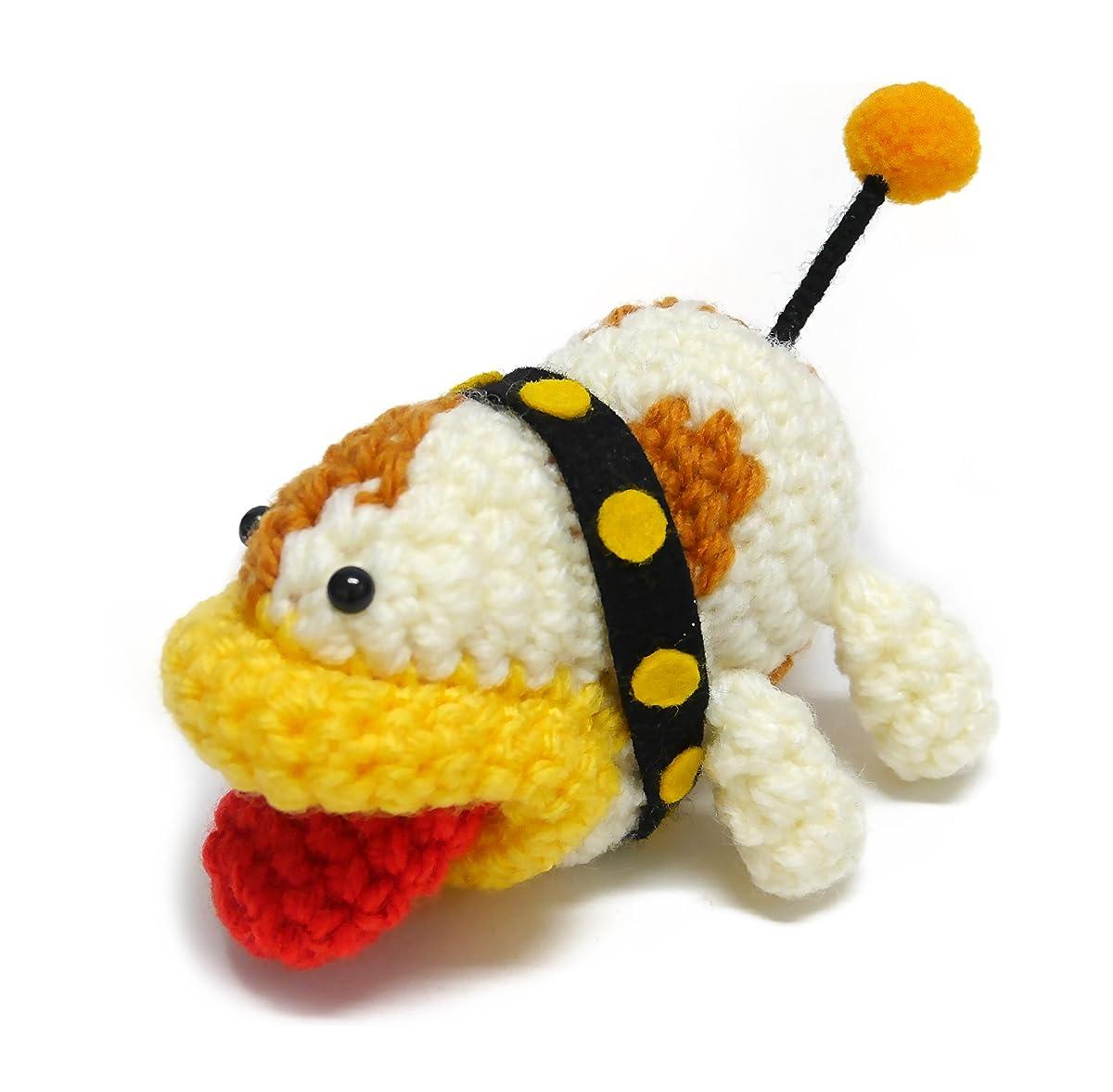 Kit Hamanaka H306-164-2 Yoshi/'s Woolly World Red Big Amigurumi Crochet Doll