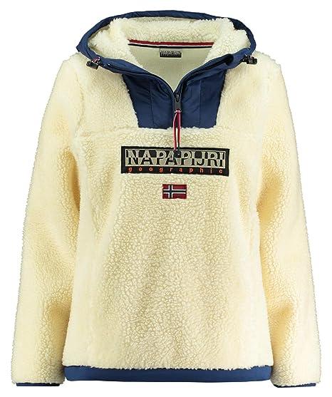 Napapijri – Chaqueta de Forro Polar Teide WOM, Color offwhite (20), tamaño