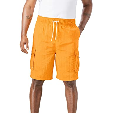 0c43a71a3e KingSize Men's Big & Tall Cargo Swim Trunks