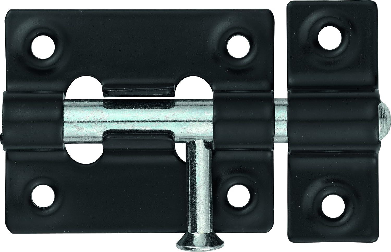 Abus SRR45 BL B Pestillo de acero acabado en negro 45mm blister