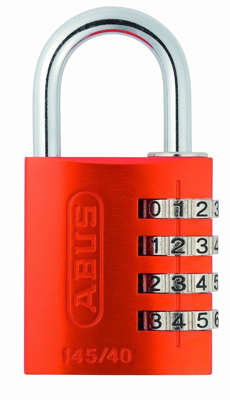 ABUS 145/40 Combination Padlock - Orange 14540ORA