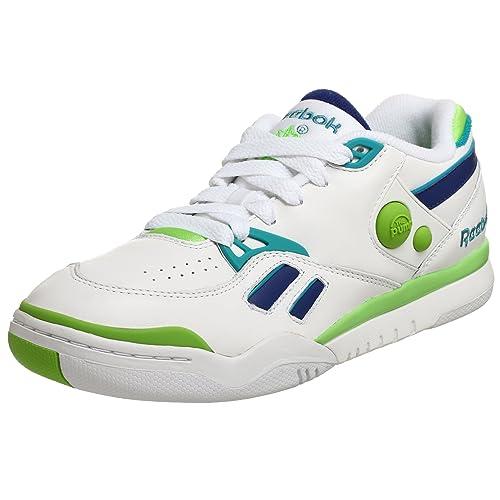acb9250187deb7 Reebok Men s Pump Court Victory Dual Low Tennis Shoe
