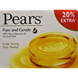 Pears Pure and Gentle Soap Bar, 125g (with 20% Extra)