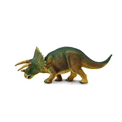 Safari Ltd Wild Safari Triceratops: Toys & Games