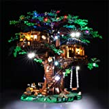 BRIKSMAX Led Lighting Kit for Tree House - Compatible with Lego 21318 Building Blocks Model- Not Include The Lego Set