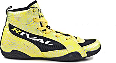 RIVAL BOXING BOOTS-LOW TOPS (YELLOW