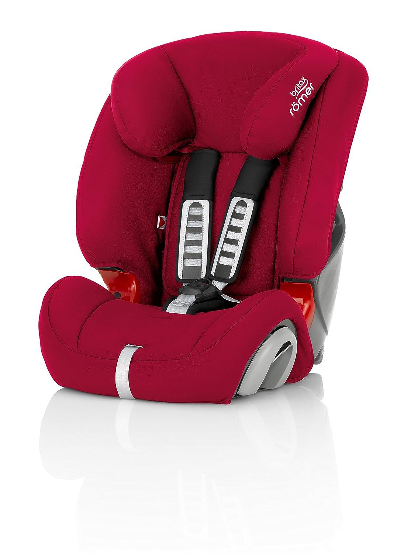 d0bb49ae116 Britax Römer EVOLVA 1-2-3 SL SICT Group 1-2-3 (9-36kg) Car Seat - Flame  Red: Amazon.co.uk: Baby