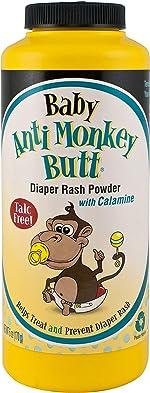 Anti Monkey Butt Baby Powder with Calamine - Prevents Diaper Rash