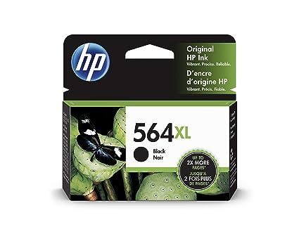 HP 564XL Black - Cartucho de Tinta para impresoras (Negro, 550 ...